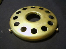 Solid brass 4 inch fitter lamp UNO style Screw on your Socket shade holder