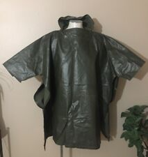 Vintage 50's Boy Scouts Of America Official Uniform Poncho Mens, Olive, 6 Button
