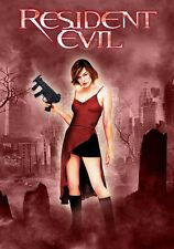 Resident Evil movie poster : 11 x 17 inches : Milla Jovovich poster