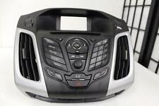 12-14 FORD FOCUS RADIO CD PLAYER CLIMATE CONTROL AIR VENTS CM51-18835-JAW