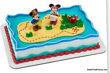 Minnie Mickey Pirates Cake Topper Decoration Supplies Birthday Disney Cupcake NW