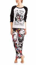 Nightmare before christmas pajamas womens XL set plush fleece jack 16/18 new K6