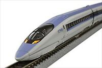 Rokuhan T013-1 Z Gauge Train Railway 500 Shinkansen Kodama 3 set With Tracking