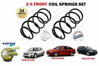 FOR VOLVO C30 S40 V50 1.6 1.8 2.0 PETROL 2006-2012 NEW 2X FRONT COIL SPRINGS SET