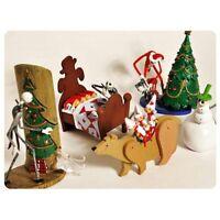 Jun Planning Nightmare Before Christmas Jack Trading Figures Series 1 Set Of 4