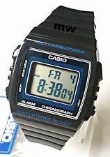 CASIO W215H-8A DIGITAL SPORTS Men Ladies Teens Quartz Watch 50M Alarm Grey Resin