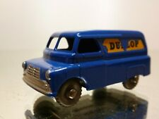 MATCHBOX LESNEY 25 BEDFORD VAN - DUNLOP - BLUE - VERY GOOD CONDITION