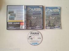 Addon Paris Ile de France scenes photorealistes pour Flight simulator 2004 PC FR