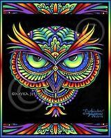 Dia De Muertos Dalia Calaca Candy Skull Ltd Edition Signed CANVAS Embellished