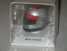Helmet  Lotus  1977 - M. Andretti - F1 1/8 True Scale /NO Spark - minichamps