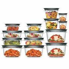 Rubbermaid 2108373 Food Storage Container 28 Piece Set - Grey