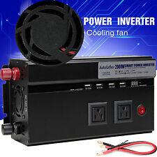 2000W 4000 Watt Peak Power Inverter DC 12V to AC 110V Car, Truck, RV,Pickup,4WD