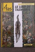 BD les 4as n°40 le loup de tasmanie EO 2003 TBE craenhals les 4 as