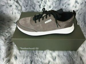 TIMBERLAND BOROUGHS PROJECT SNEAKER MEN'S TRAINERS OLIVE SUEDE UK 9.5 RRP £100