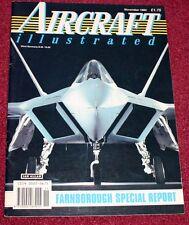 Aircraft Illustrated 1990 November Irish Air Corps,Farnborough,Chivenor,Oshkosh
