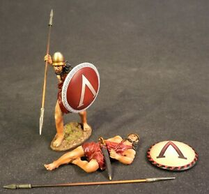 JOHN JENKINS ANCIENT GREEKS & PERSIANS SPT-07B SPARTAN WARRIORS MIB