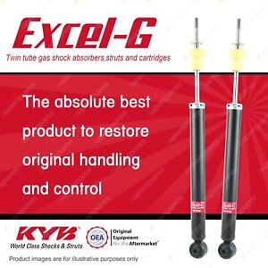 2 x Rear KYB EXCEL-G Shock Absorbers for HONDA Civic FD1 FD2 I4 FWD Sedan
