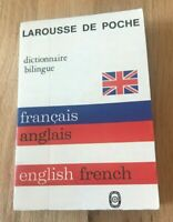 French to English and English to French Dictionary - LaRousse De Poche 1941