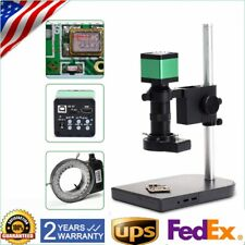 48MP HDMI USB 60fps Digital Zoom Industrial Microscope Camera 100X C-Mount Lens