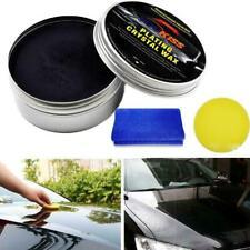 Car Wax Crystal Plating Set Hard Glossy Carnauba Wax Paint Care Coating New Tool