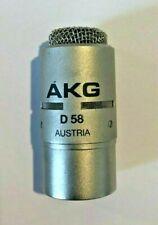 AKG D58 MICROPHONE TALKBACK ACOUSTICS PROFESSIONAL