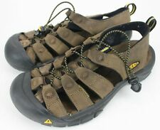 Men's KEEN Sandals Brown Leather Size 8 Casual Hicking Comfortable Sandals