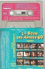 LA BOUM DES ANNEES 60 cassette K7 tape VOL 1 torr vilard sheila johnny eddy gall