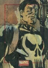 2014 Marvel Universe series 2 THE PUNISHER sketch card by Aaron Felizmenio