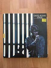 David Bowie Stage Yellow Vinyl PL -2913  Netherlands VG+/EX