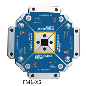 4PCS Arrow Magnetic Welding Magnet Magnetic Square Welder Holder Clamp Assist
