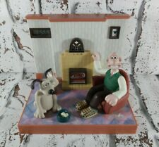 Vintage 1996 Wesco Wallace And Gromit Talking Radio Alarm Clock Bbc Collectable
