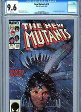New Mutants #18 CGC 9.6 White Pages 1st Warlock Marvel Comics 1984