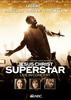 JOHN LEGEND/SARA BAREILLES/+ - JESUS CHRIST SUPERSTAR LIVE IN CONCERT   DVD NEW+
