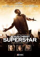 JOHN LEGEND/SARA BAREILLES/+ - JESUS CHRIST SUPERSTAR LIVE IN CONCERT   DVD NEW!