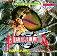 Metallica-Live & Alive CD (live 1992 Los Angeles/USA) rare & Poo
