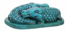 EGYPTIAN CROCODILES CROC GATOR FIGURINE.ANCIENT EGYPT SOUVENIR COLLECTIBLE GIFT