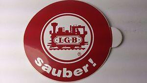 * Original LGB 8.5 cm Diameter Sticker 01 - Sauber ! (PL)