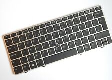 HP EliteBook 2560p 2570p UK TASTIERA CON FRAME & puntatore del mouse. 700948-031.