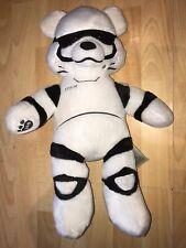 "BUILD A BEAR Disney White STORMTROOPER Bear STAR WARS Plush 17"" BABW"