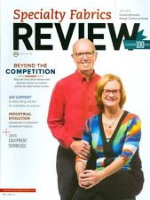 2015 Specialty Fabrics Review Magazine: Patty & Charly Smail Beyond Competition