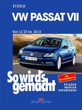 WERKSTATTHANDBUCH REPARATURANLEITUNG SO WIRD´S WIRDS GEMACHT 157 VW PASSAT VII 7