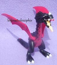 PLAYMOBIL accessoire KNIGHTS dragon noir feu chevalier chateau asie 5493