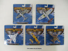 Hot Wings Die Cast  Collectible Planes  Set Of 5 Planes  Unopened