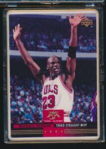 "1993 Upper Deck Ceramic ""Mr. June""  3rd Straight MVP Michael Jordan /2500"