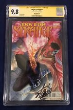 Doctor Strange #2 Alex Ross Variant 1:100 CGC 9.8 Signed by Stan Lee on 11/8/18!