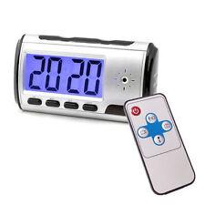 SECRET DIGITAL MAGIC SPY CAM Orologio Nascosto Videocamera DVR CCTV Rilevatore di movimento
