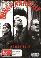 Sons Of Anarchy SEASON 4 :like  NEW DVD only been watched once