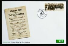 IRELAND 2014 IRISH CITIZEN ARMY ESTABLISHMENT OFFICIAL AN POST FIRST DAY COVER.