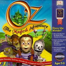 DK Oz The Magical Adventure ages 5-8 kindergarten 1st grade math logic PC CD