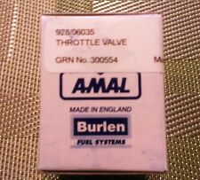 Genuine Amal Throttle Valve (Slide), 900-series, 3.5 Cutaway, New in Factory Box